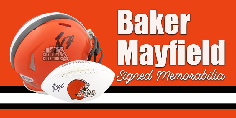 Baker Mayfield Autographs and Signed Memorabilia
