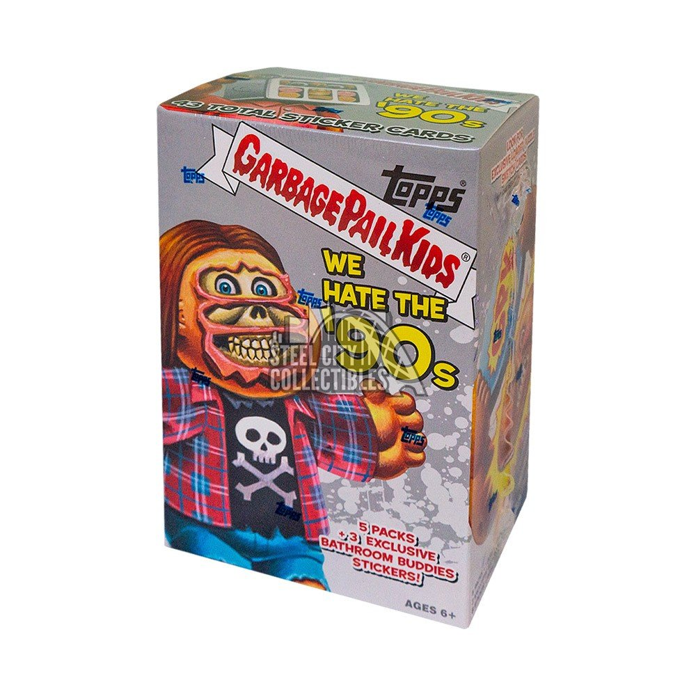 2019 Topps Garbage Pail Kids We Hate The 90s 5ct Blaster Box Autographs and Signed Memorabilia