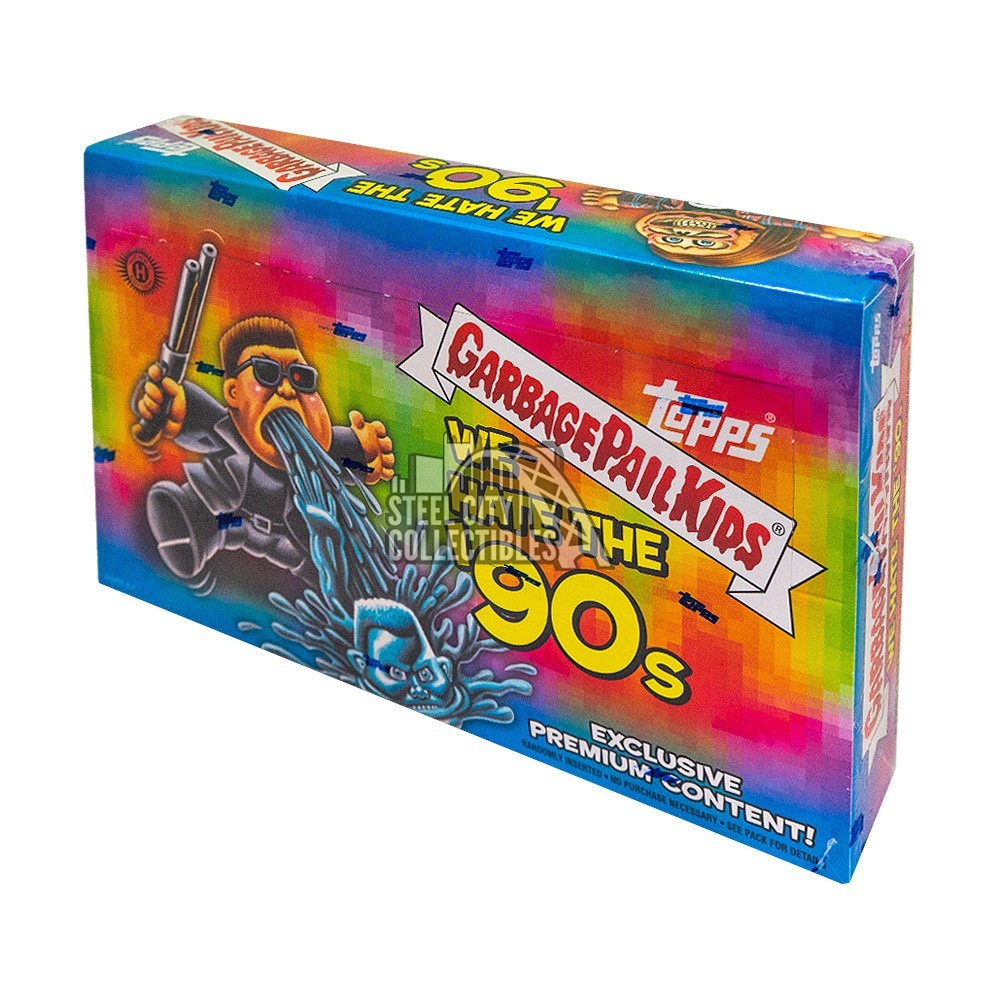 2019 Topps Garbage Pail Kids We Hate The 90s Collectors Edition Hobby Box Autographs and Signed Memorabilia