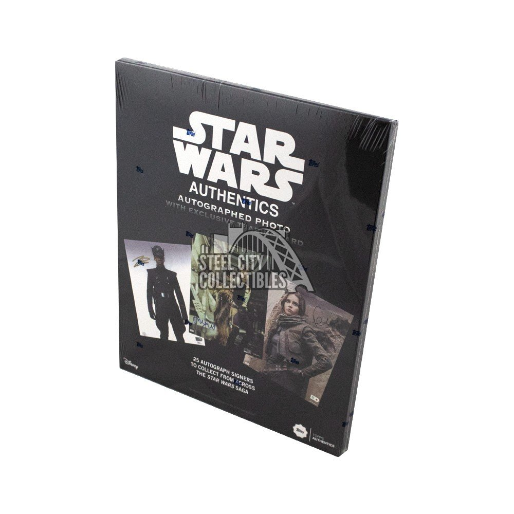 2019 Topps Star Wars Authentics Autographed Photo & Trading Card Autographs and Signed Memorabilia