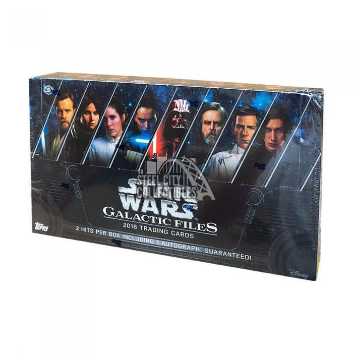 2018 Topps Star Wars Galactic Files Autographs and Signed Memorabilia