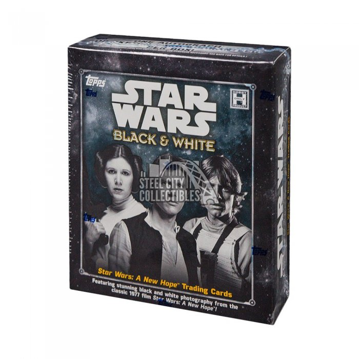 2018 Topps Star Wars Black & White:  A New Hope Autographs and Signed Memorabilia