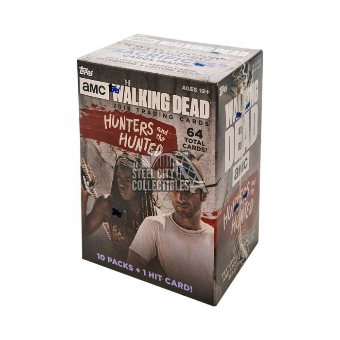 2018 Topps TWD: Hunters and the Hunted Blaster Autographs and Signed Memorabilia