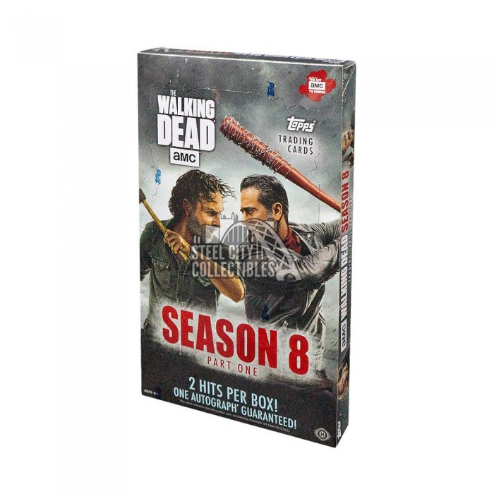 2018 Topps TWD Season 8 Hobby Box Autographs and Signed Memorabilia