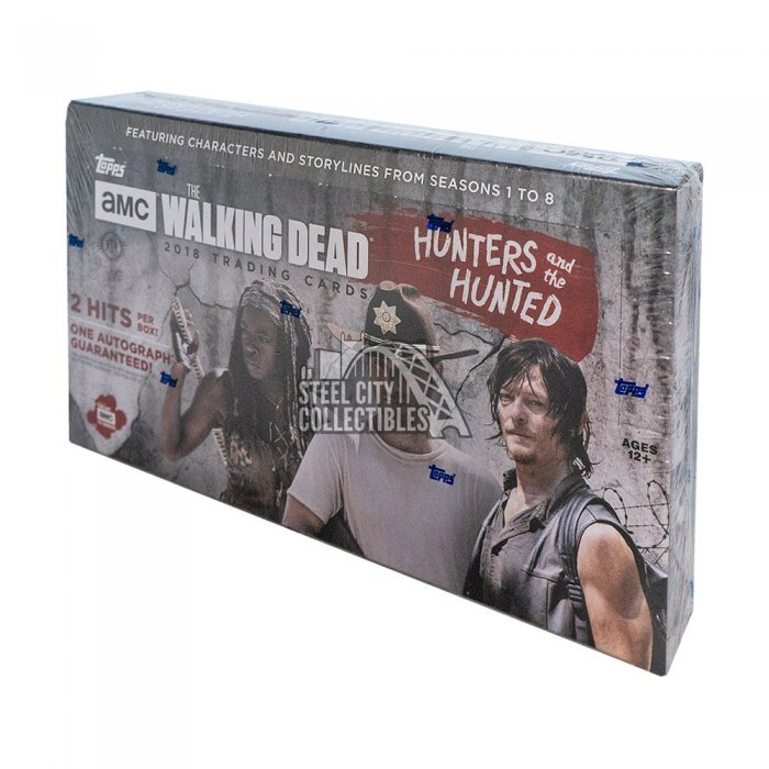 2018 Topps TWD: Hunters and the Hunted Hobby Autographs and Signed Memorabilia