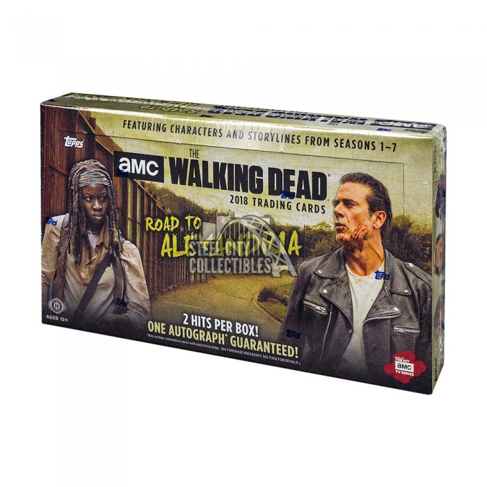 2018 Topps TWD Road To Alexandria Autographs and Signed Memorabilia