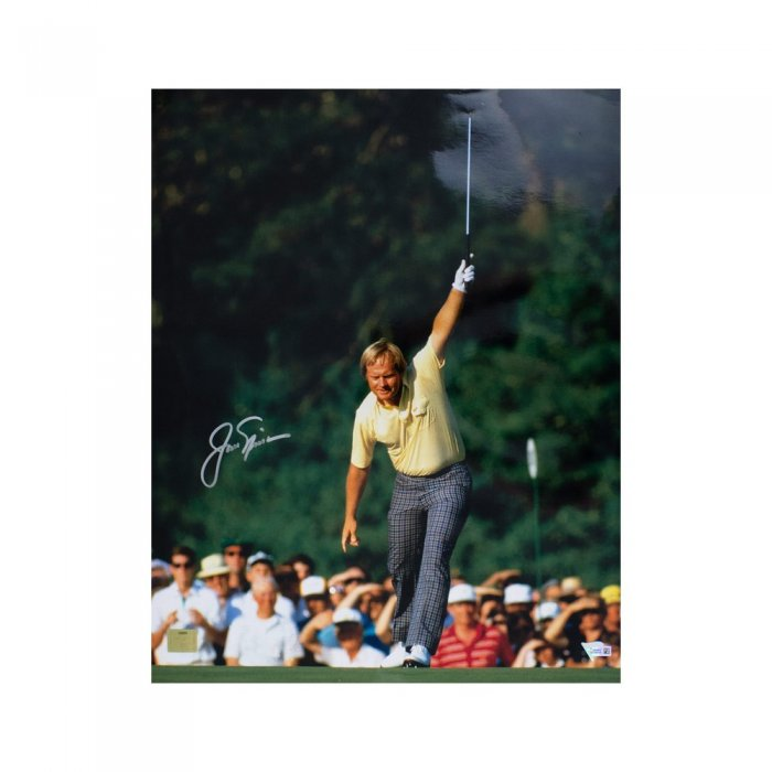 Jack Nicklaus Autographs and Signed Memorabilia