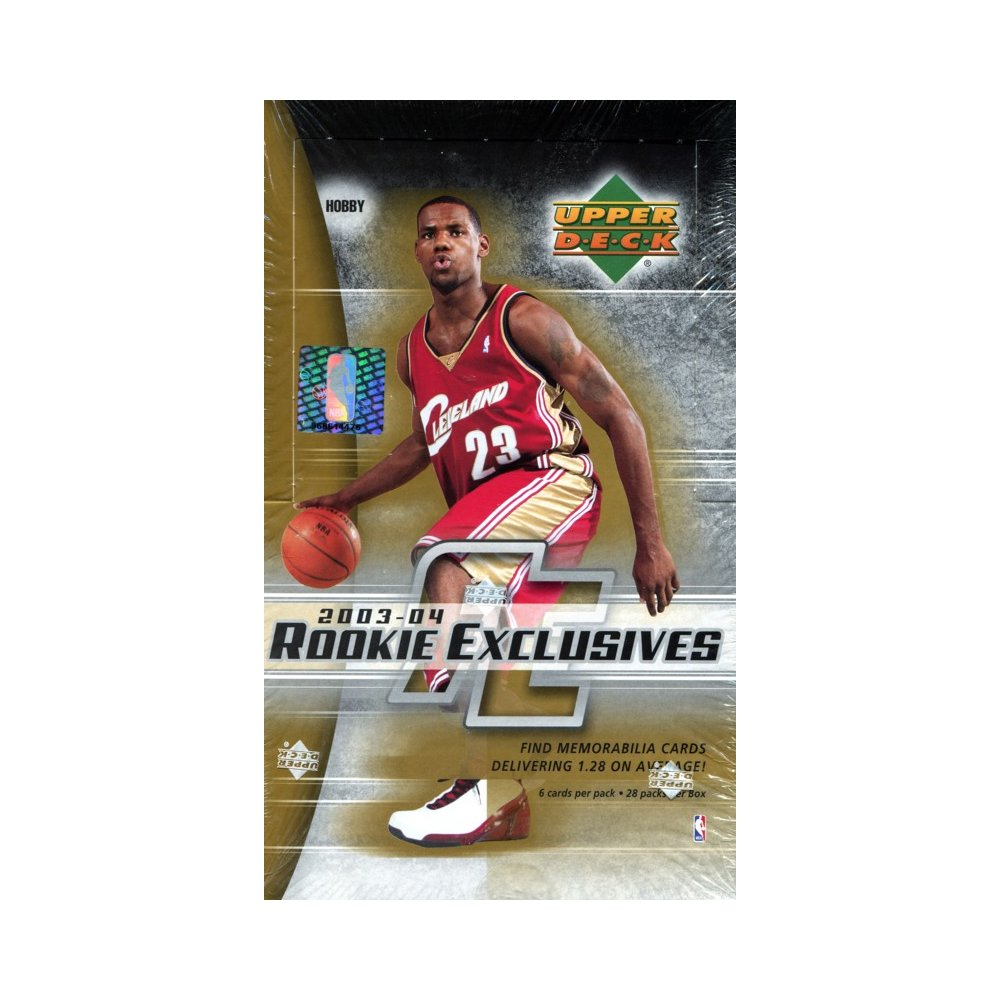 2003-04 Upper Deck Rookie Exclusives Basketball Hobby Box
