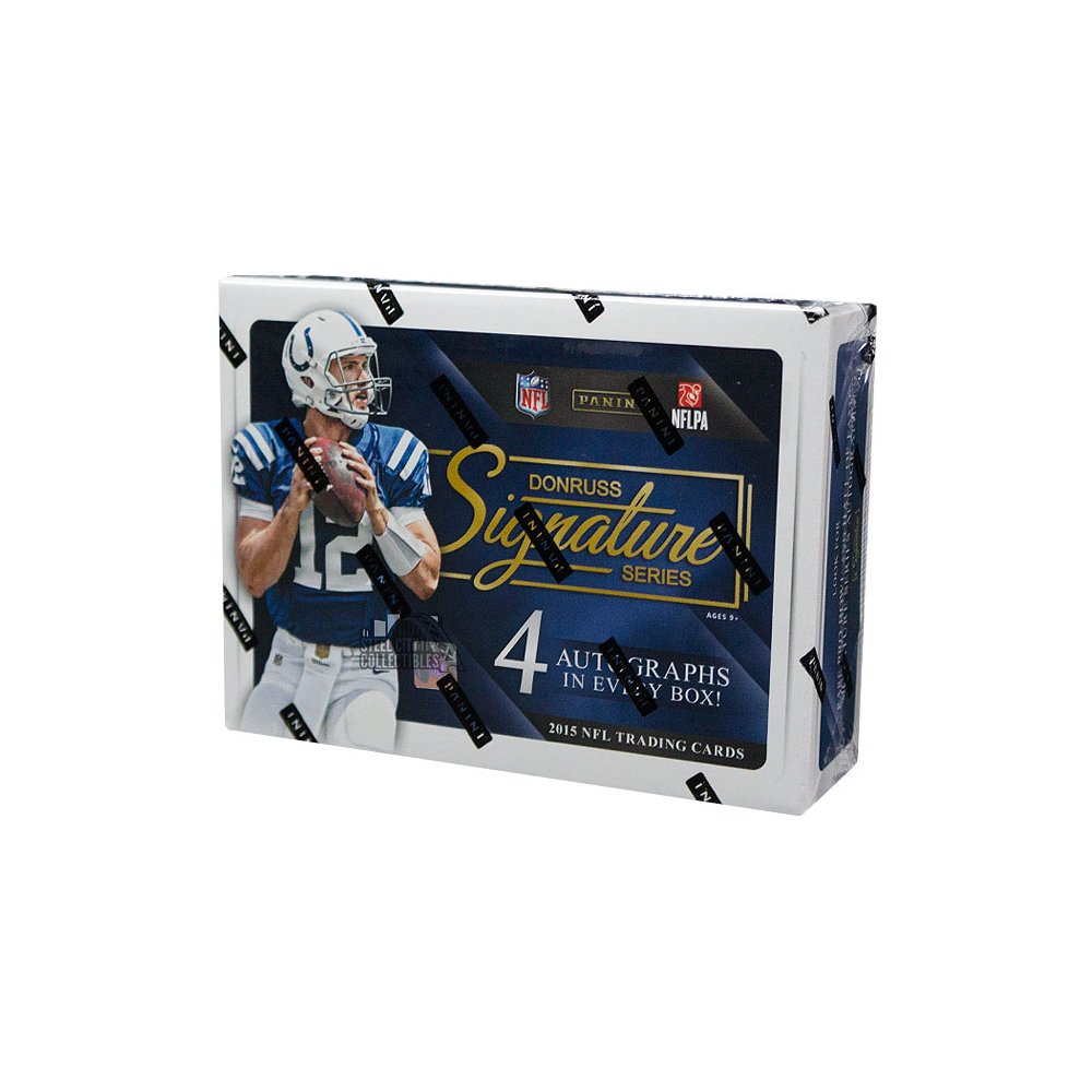 2015 Panini Donruss Signature Series Football Autographs and Signed Memorabilia