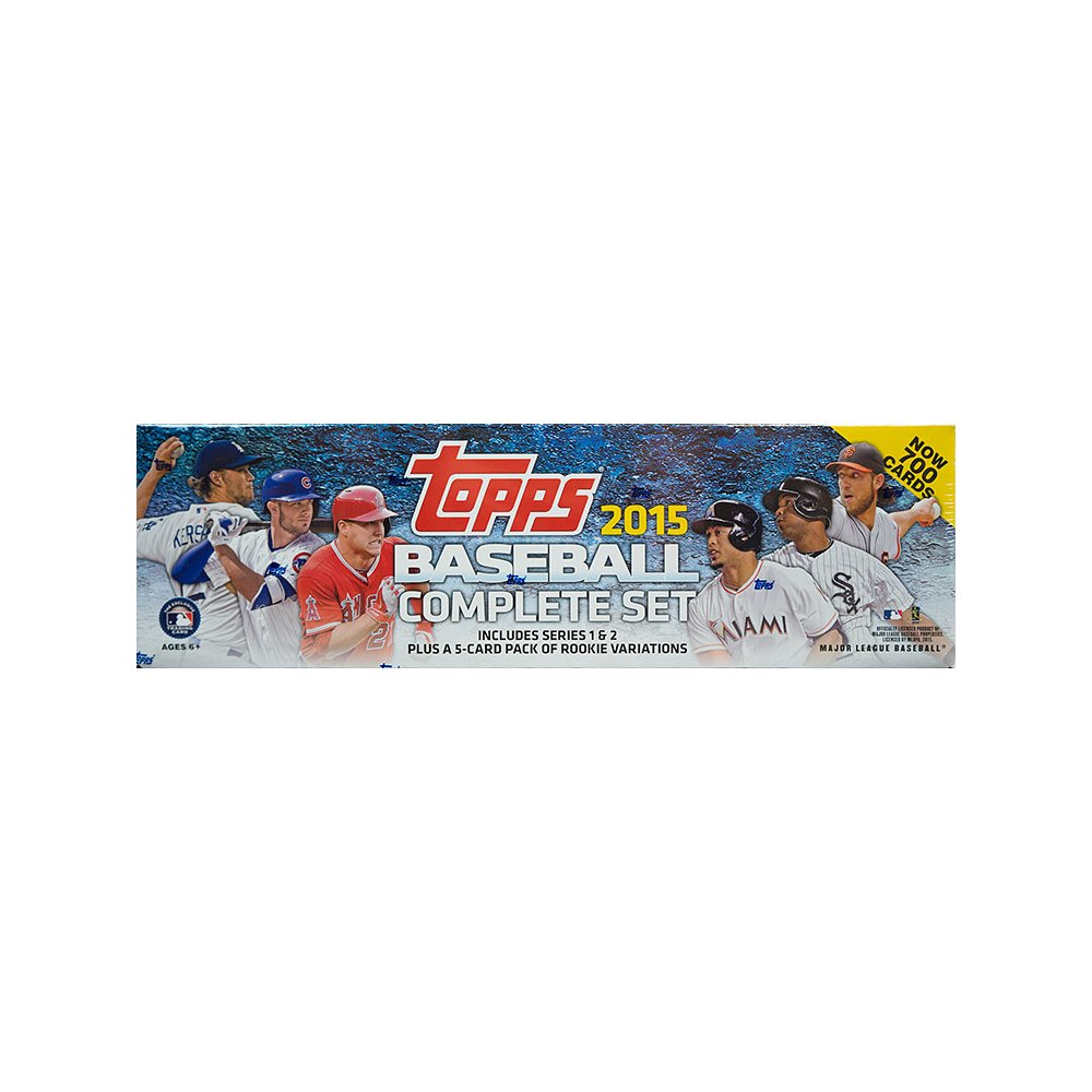 2015 Topps Baseball Factory Set Retail Version Steel City
