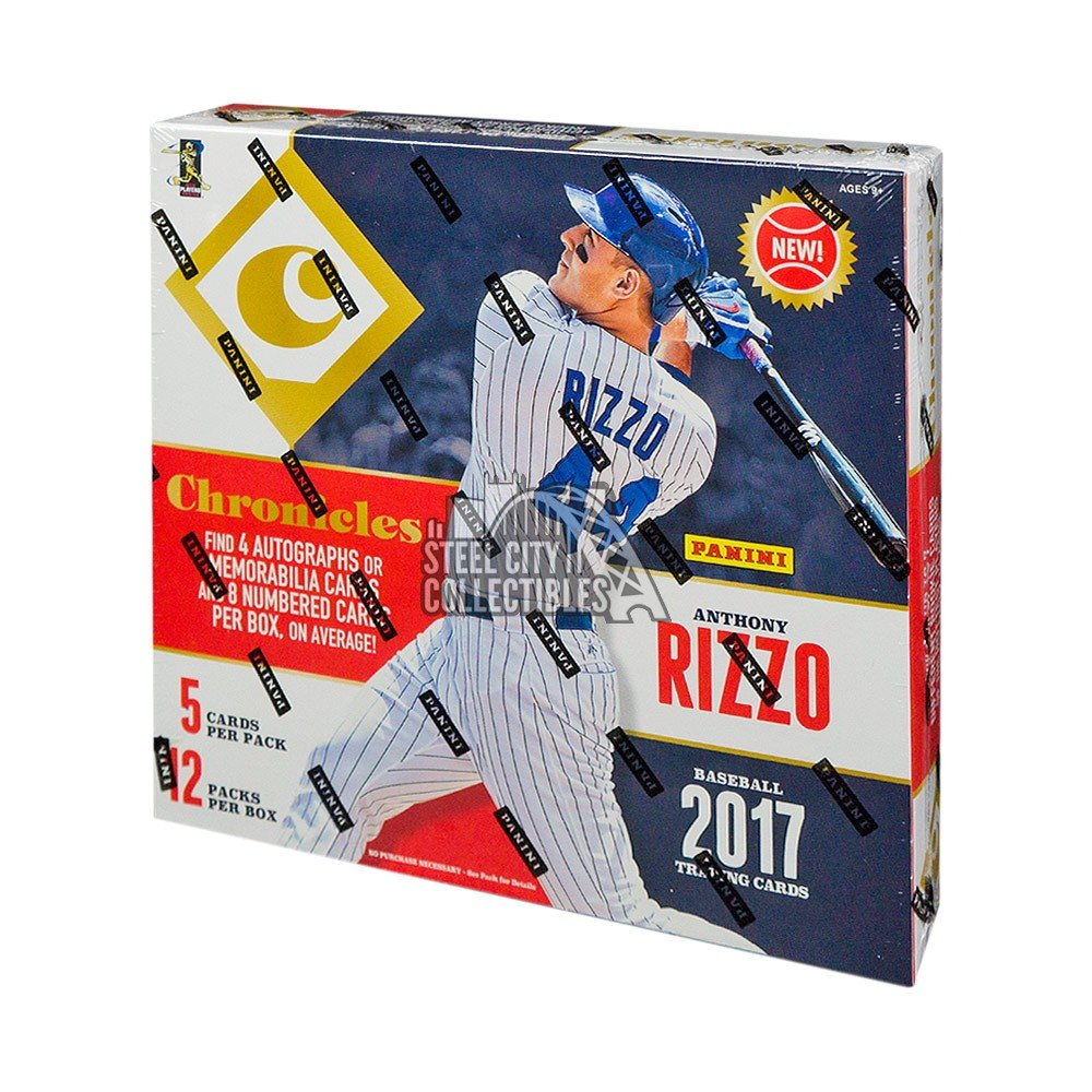 2017 Panini Chronicles Baseball Autographs and Signed Memorabilia