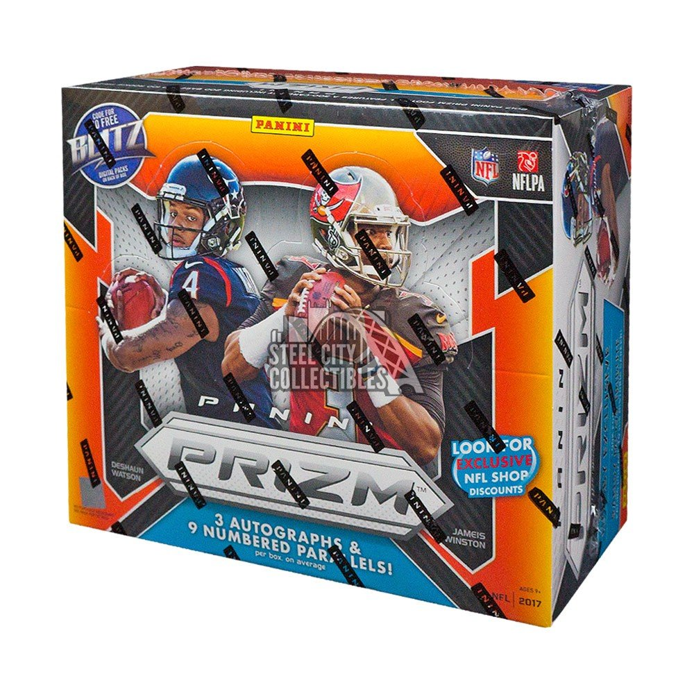 2017 Panini Prizm Football Hobby Box Steel City Collectibles