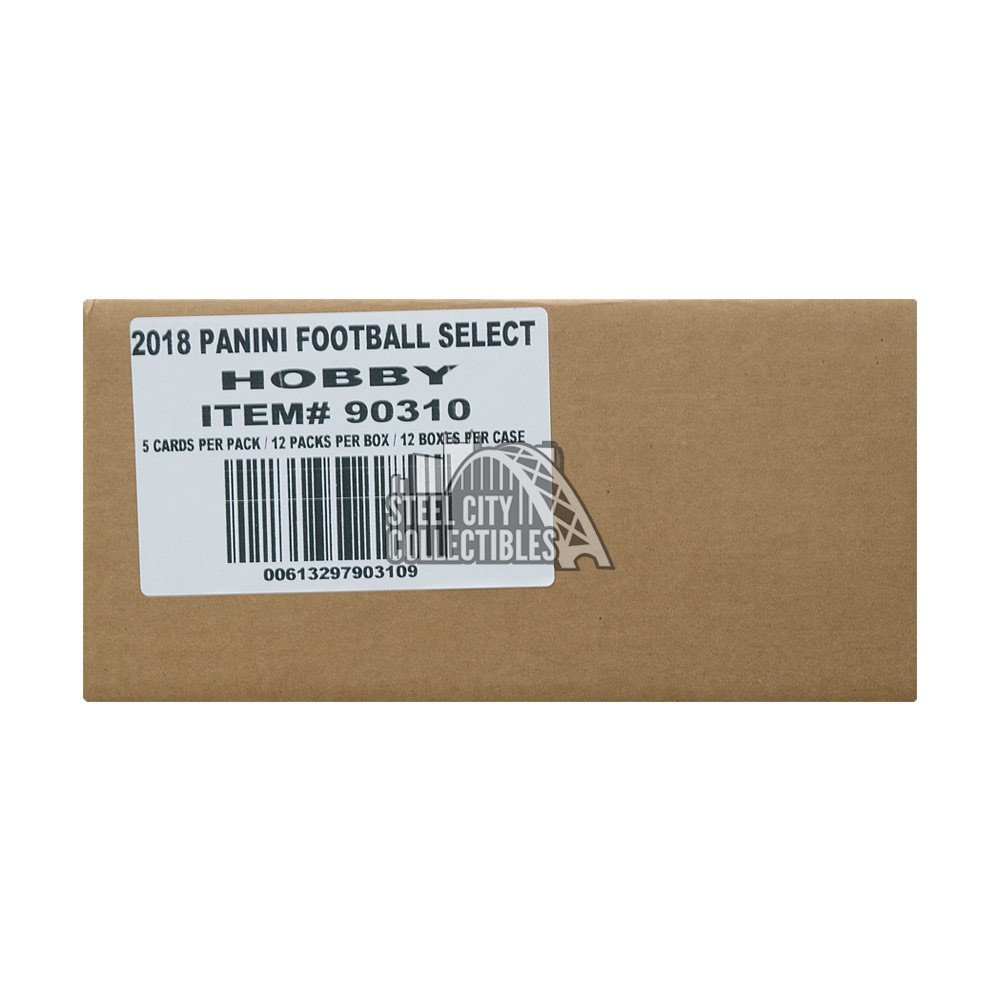 5c026c11ddd 2017 Panini Select Football Hobby 12-Box Case | Steel City Collectibles