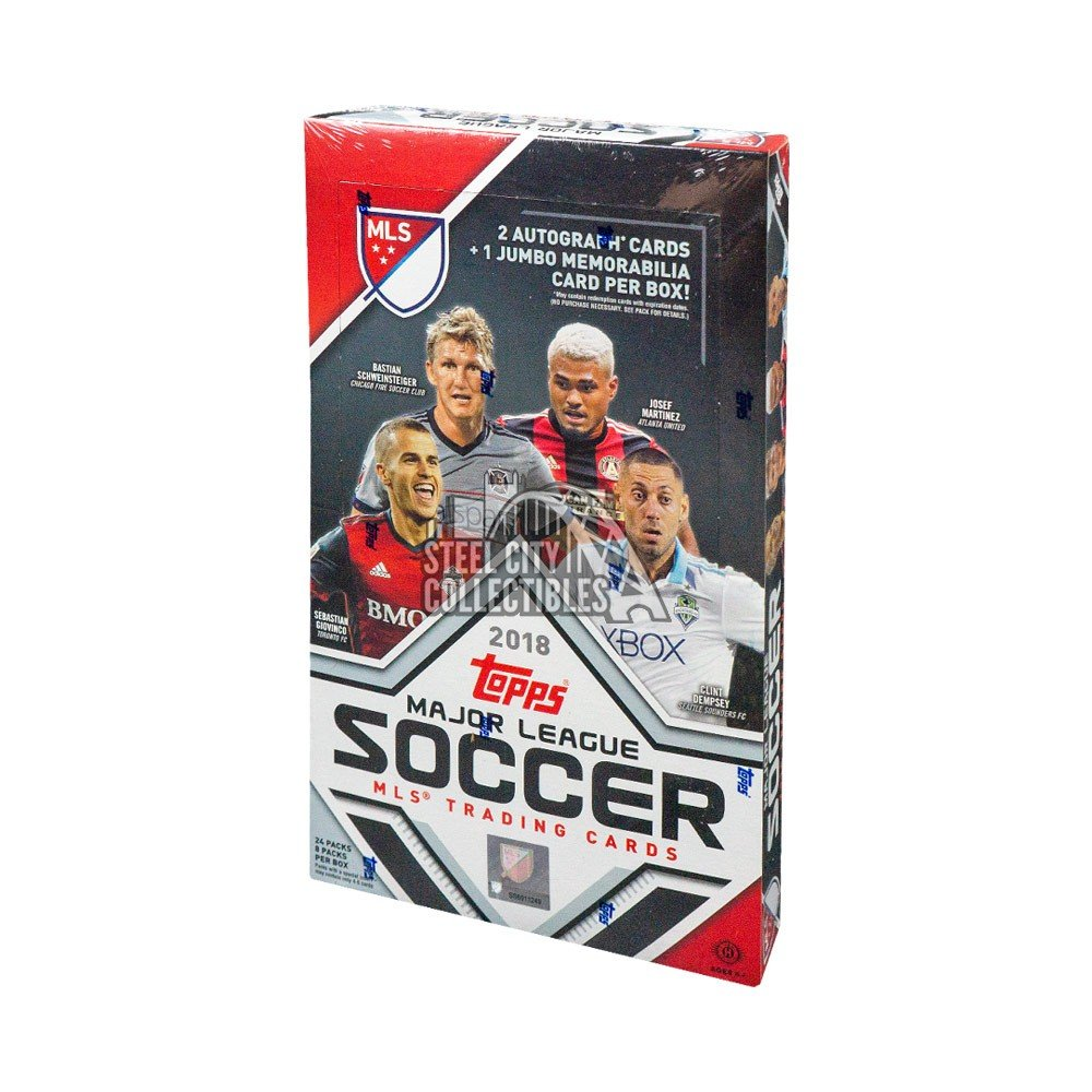 2018 Topps Mls Soccer Hobby Box Steel City Collectibles