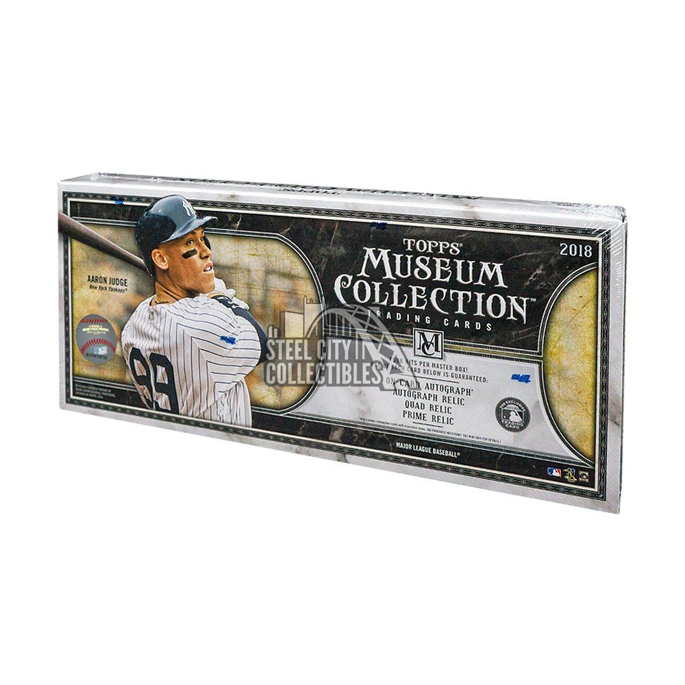 2018 Topps Museum Collection Factory Sealed Baseball Hobby Box