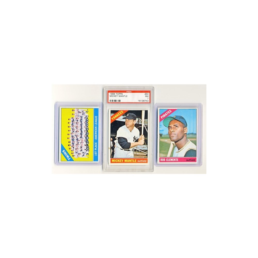 1966 Topps Baseball Hand Collated Complete Set Ex W Psa 7