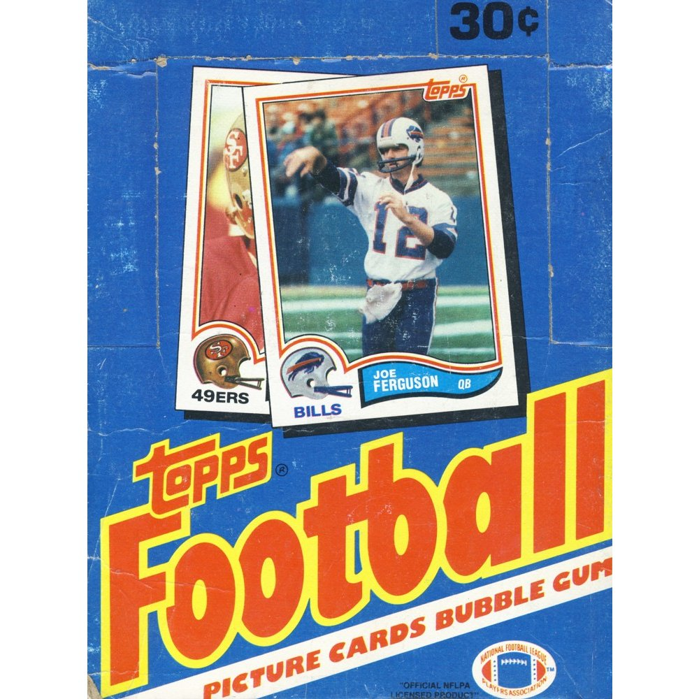 new concept 01e75 3fcaf 1982 Topps Football Wax Box