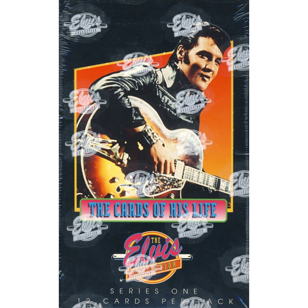 1992 River Group The Elvis Collection The Cards Of His Life Series 1 Box