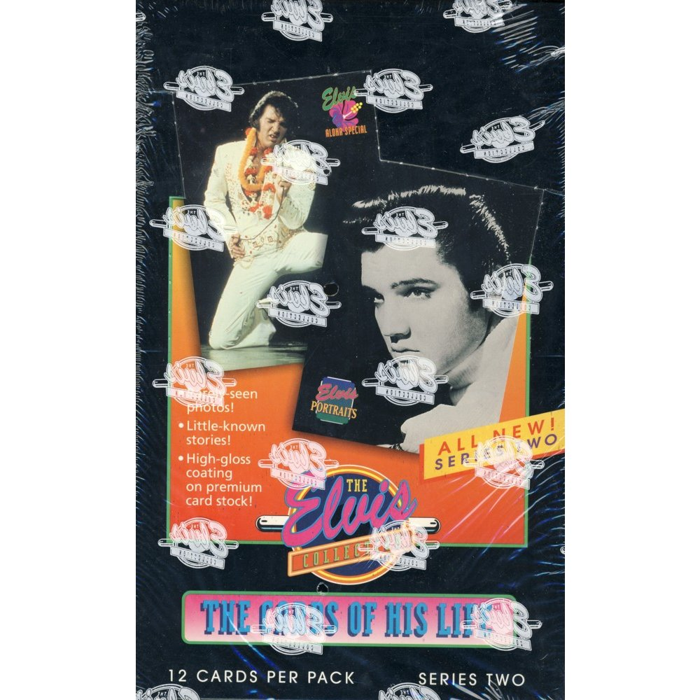 1992 River Group The Elvis Collection The Cards Of His Life Series 2 Box