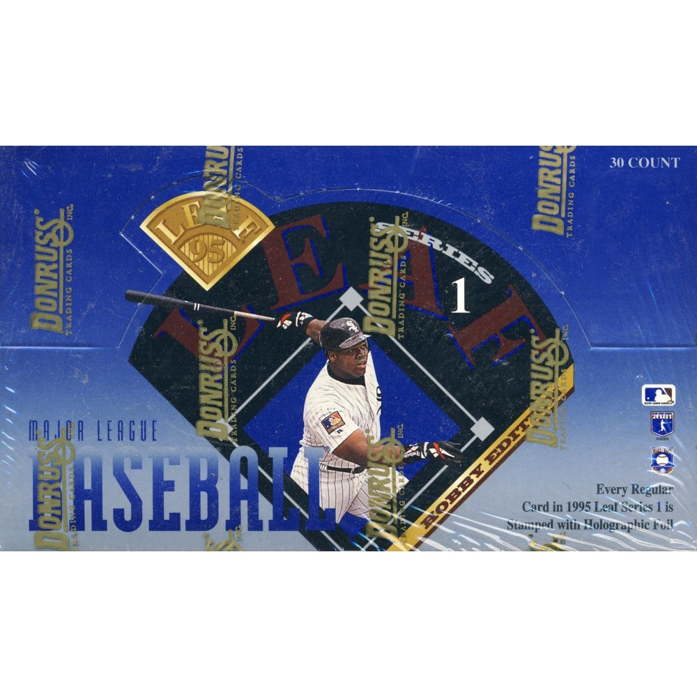 1995 Leaf Series 1 Baseball Hobby Box Steel City Collectibles
