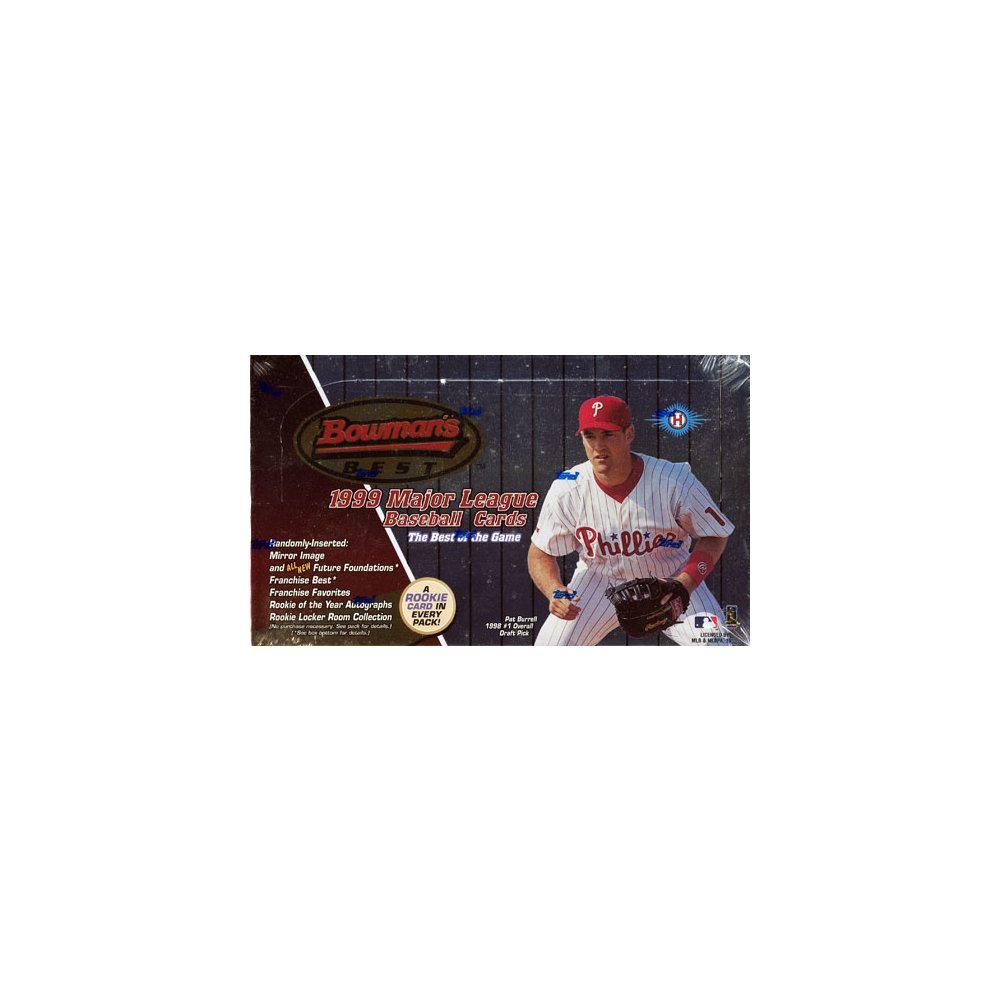 1999 Bowmans Best Baseball Hobby Box Steel City Collectibles