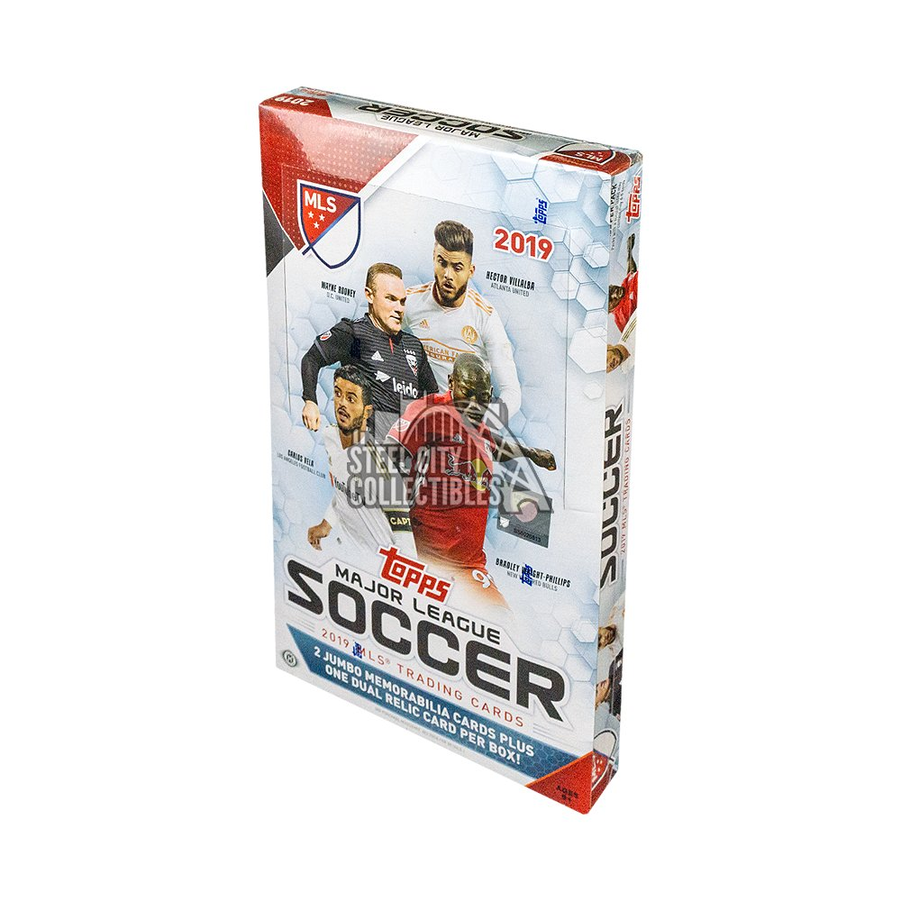 2019 Topps Mls Soccer Hobby Box Steel City Collectibles