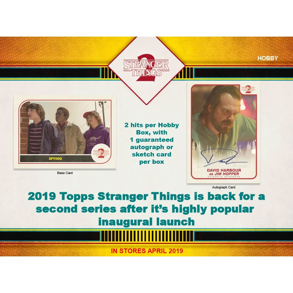 2019 Topps Stranger Things 2 Autographs and Signed Memorabilia