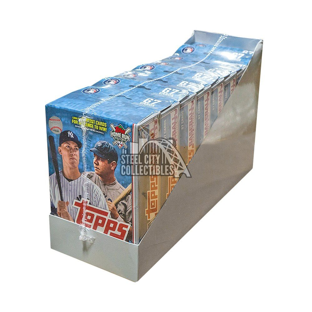 2019 Topps Series 1 Baseball Hanger Pack 8ct Box Autographs and Signed Memorabilia