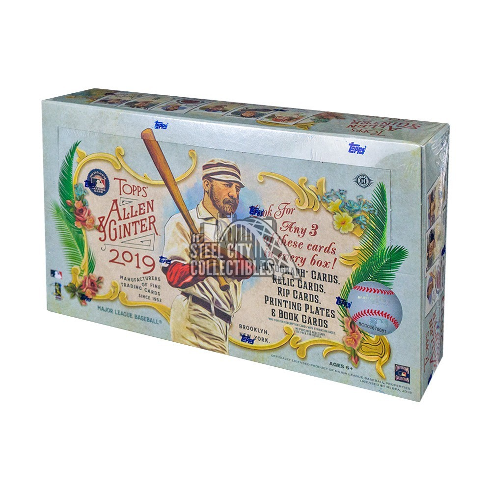 2019 Topps Allen /& Ginter Baseball EXCLUSIVE Factory Sealed Blaster Box! 5