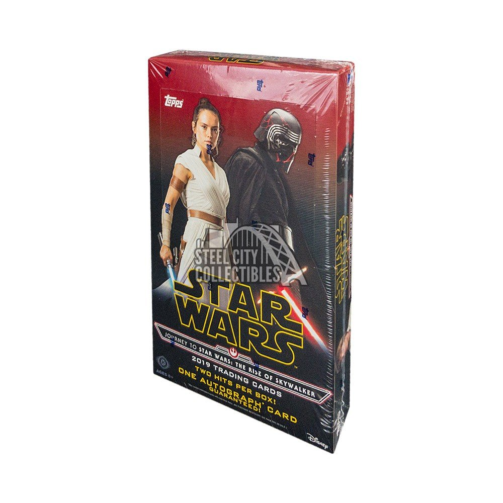 2019 Topps Star Wars Journey To Episode 9 The Rise Of Skywalker Hobby Box Steel City Collectibles