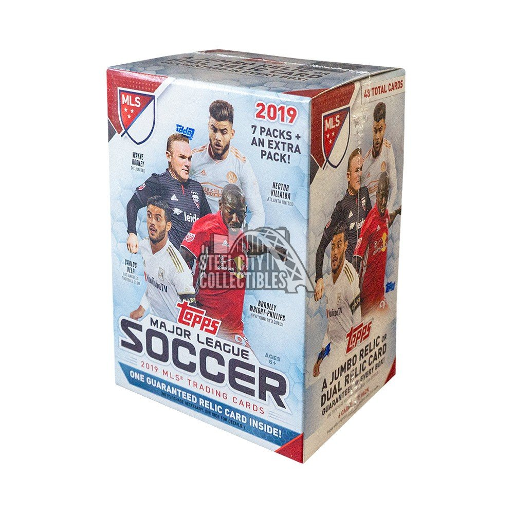 2019 Topps Mls Soccer 8ct Blaster Box Steel City Collectibles