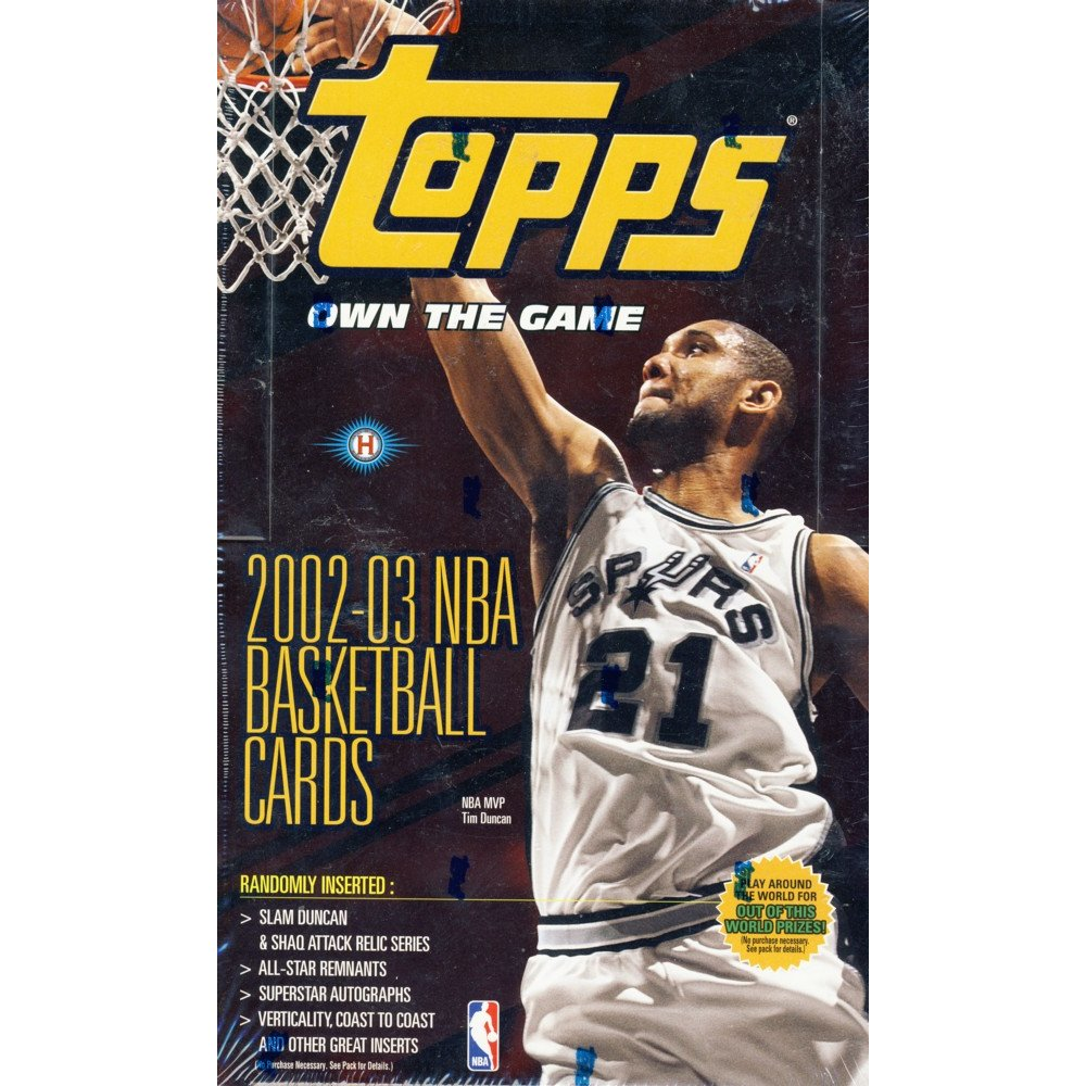 timeless design 1c5fd c4bf8 2002-03 Topps Basketball Hobby Box | Steel City Collectibles