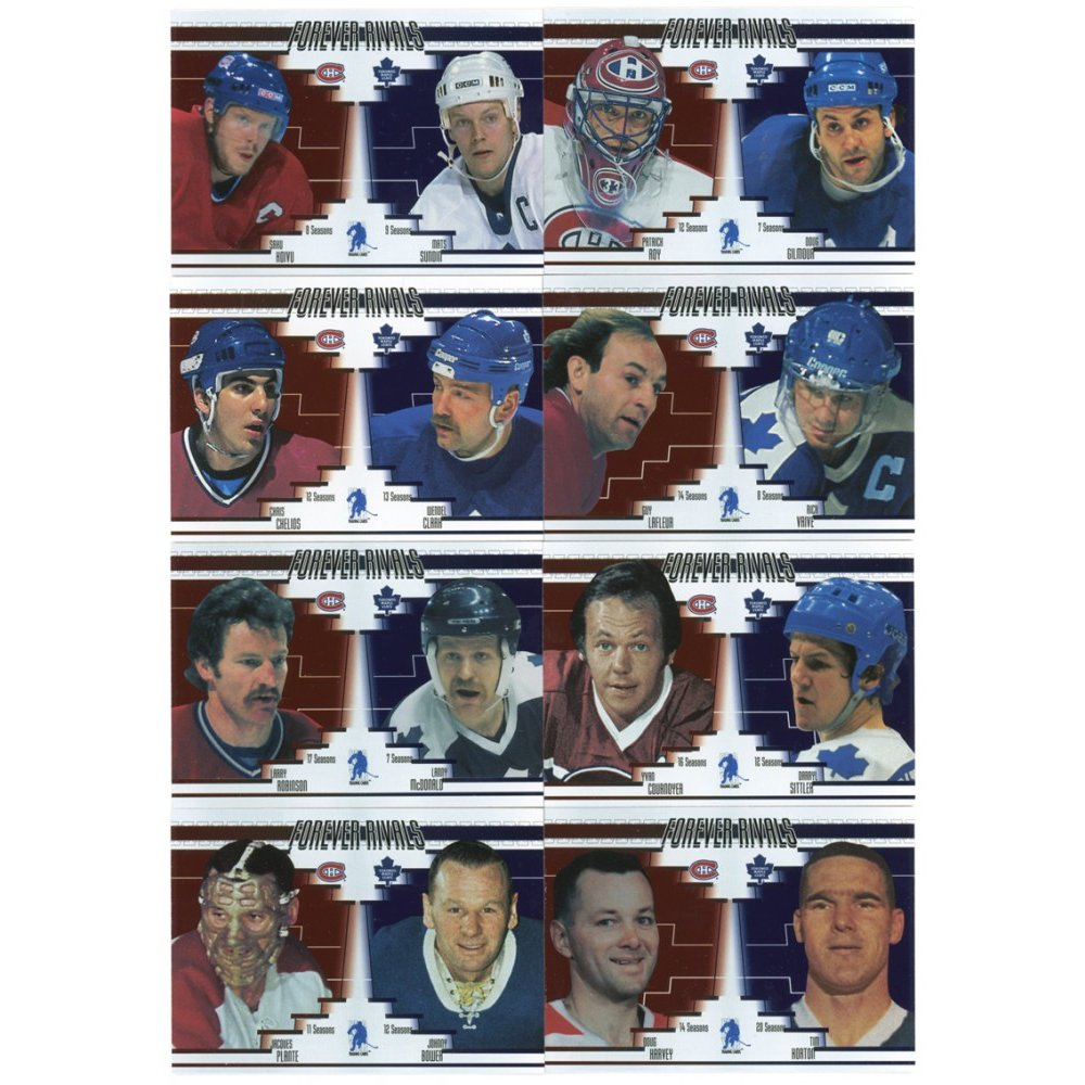 2003 in the game forever rivals toronto fall expo 10 card set