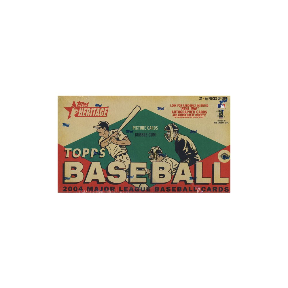 2004 Topps Heritage Baseball Hobby Box Steel City Collectibles