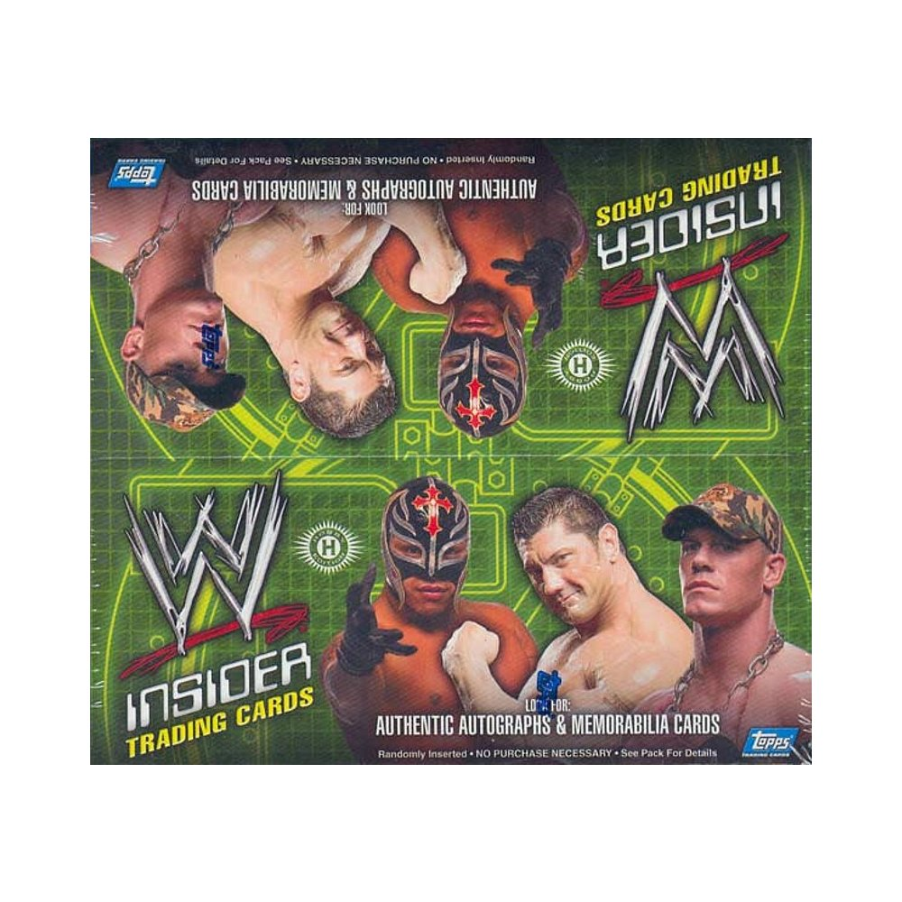 2006 Topps WWE Insider Wrestling Hobby Box | Steel City Collectibles