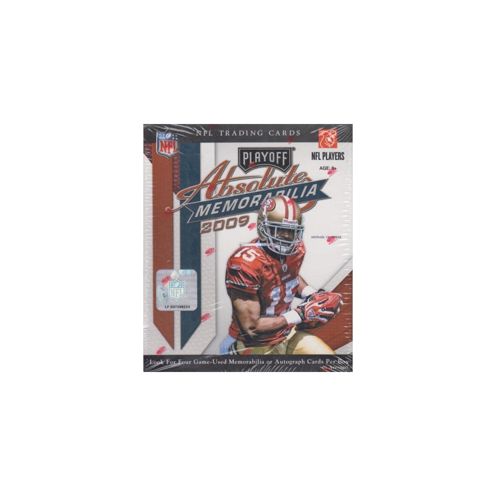 2009 Playoff Absolute Memorabilia Football Hobby Box | Steel