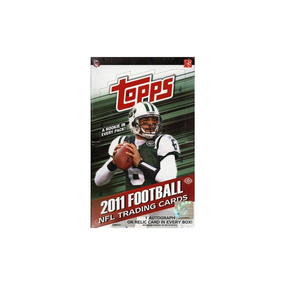 2011 Topps Football Hobby Box Steel City Collectibles