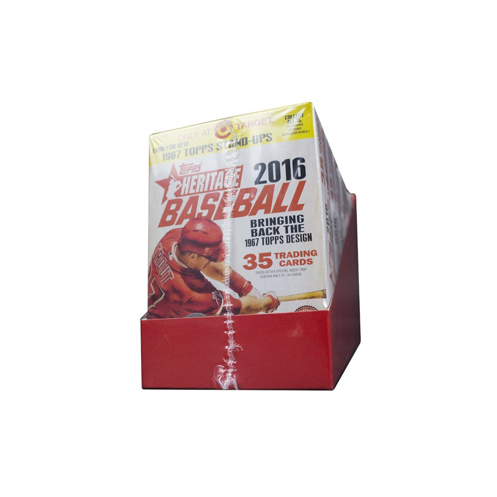 2016 Topps Heritage Baseball 8ct Hanger Box Steel City Collectibles