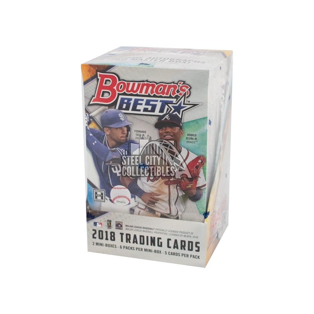 2018 Bowman's Best Baseball Hobby Box Autographs and Signed Memorabilia
