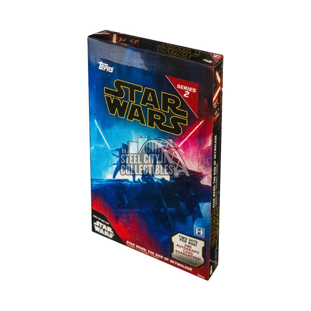 2020 Topps Star Wars The Rise Of Skywalker Series 2 Hobby Box Steel City Collectibles