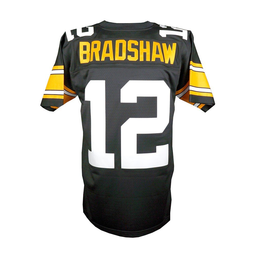 huge selection of baba0 45bd6 Terry Bradshaw Pittsburgh Steelers Mitchell & Ness Replica Jersey