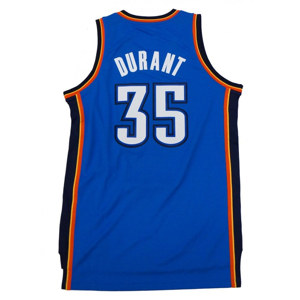 b2eae05d0aabb Kevin Durant Oklahoma City Thunder NBA Adidas Men's Away Blue Swingman  Jersey | Steel City Collectibles