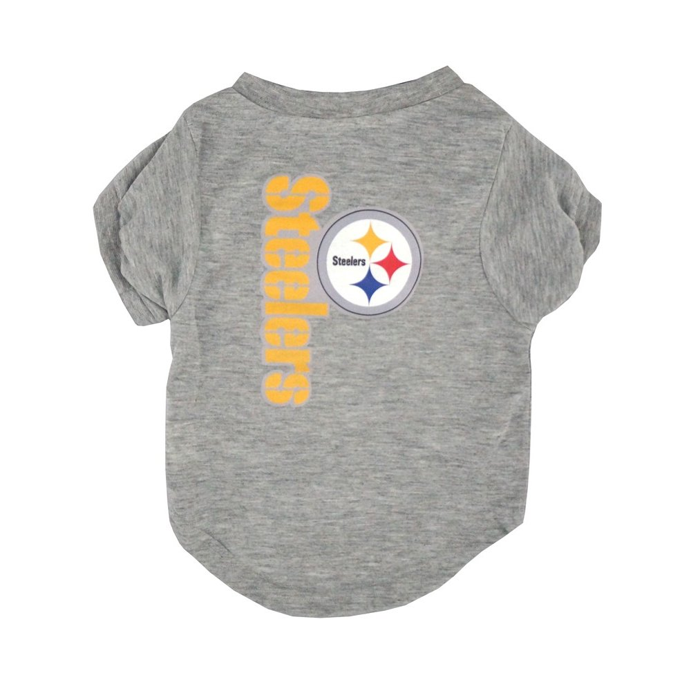 5c8352b98e8 Pittsburgh Steelers NFL Gray Dog T-Shirt | Steel City Collectibles