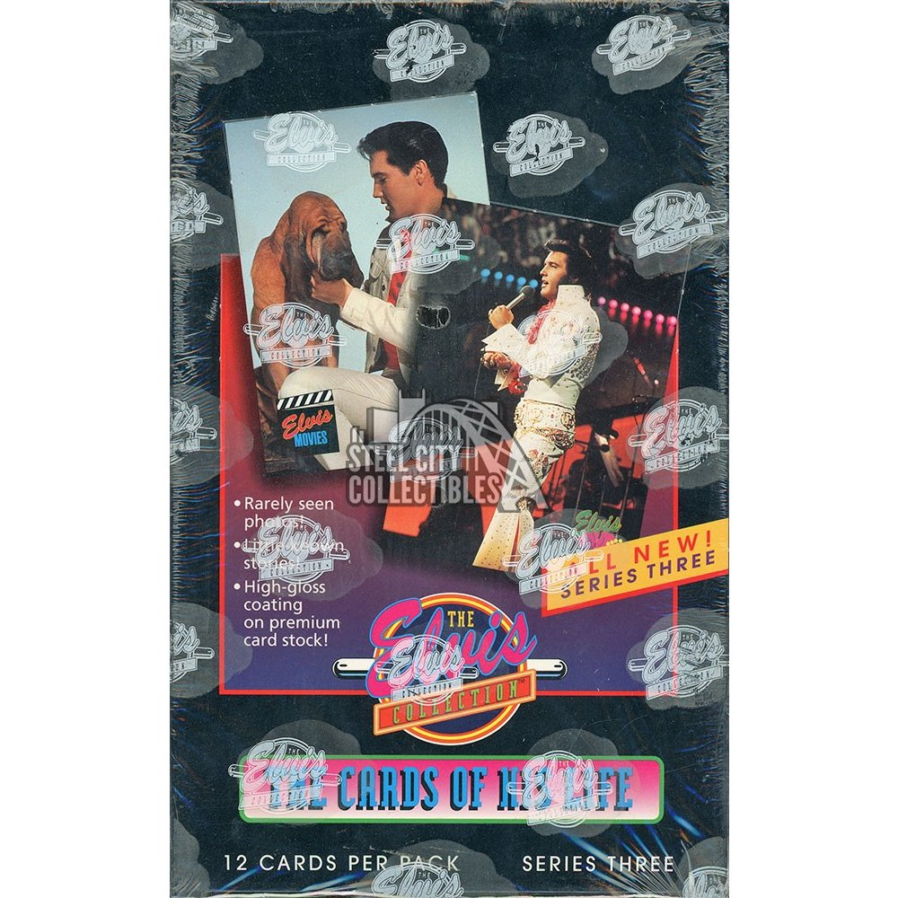 1992 The Elvis Collection Series 3 Unopened Box