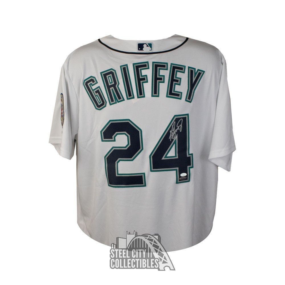new concept 3dc5b 379ef Ken Griffey Jr Autographed Authentic Seattle Mariners Jersey - Tristar/Mill  Creek COA