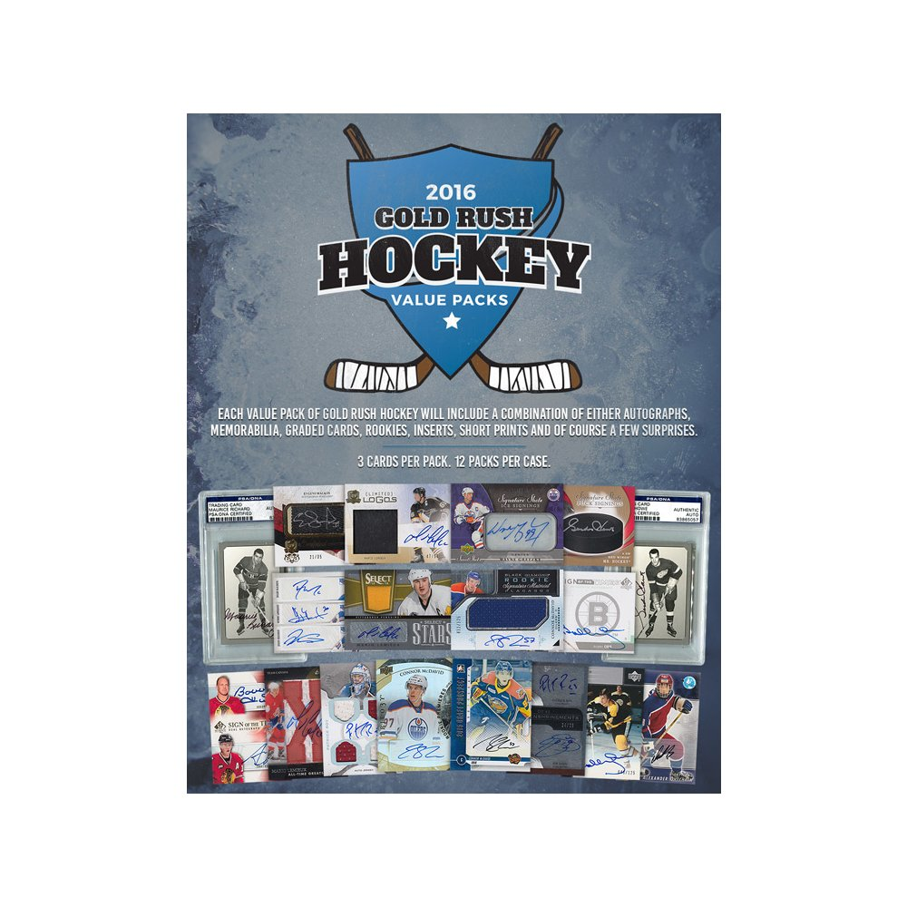 2016 Gold Rush Hockey Value Pack | Steel City Collectibles