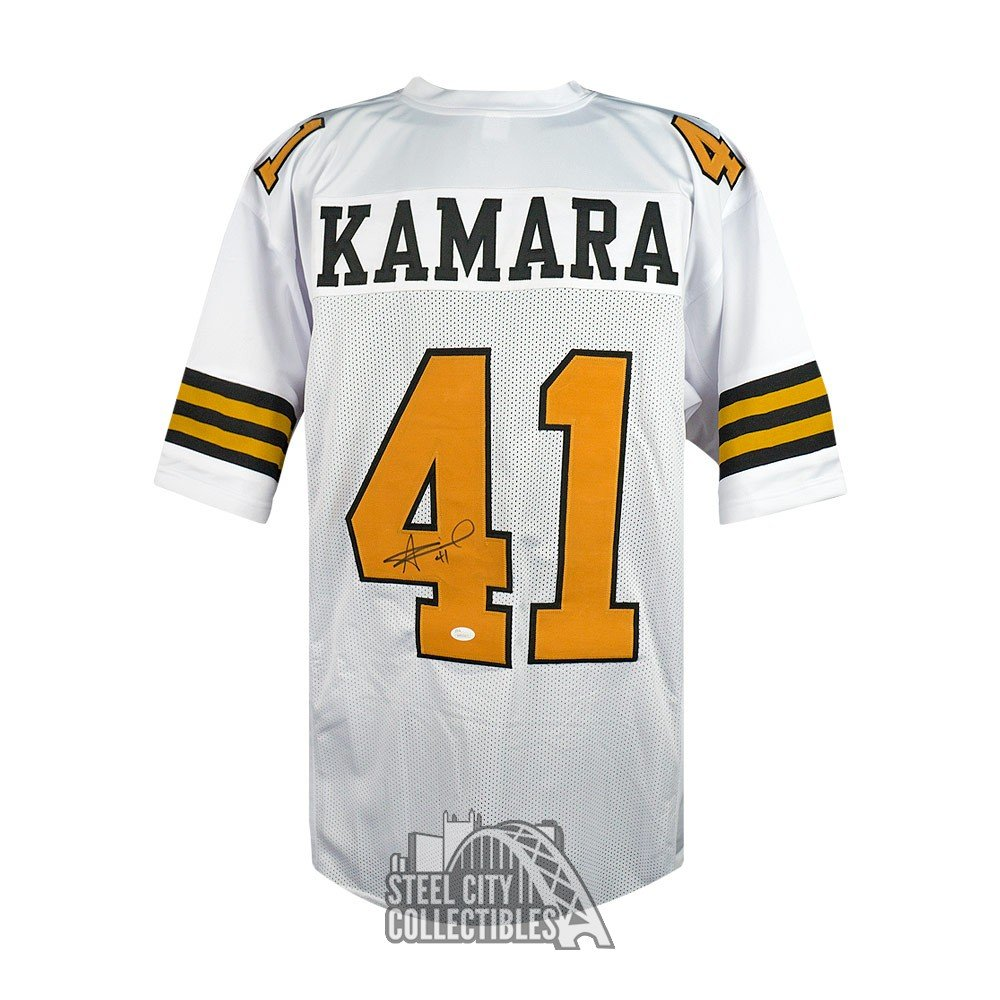 best service 67fee 5750f Alvin Kamara Autographed New Orleans Saints Custom Color Rush Jersey - JSA  COA