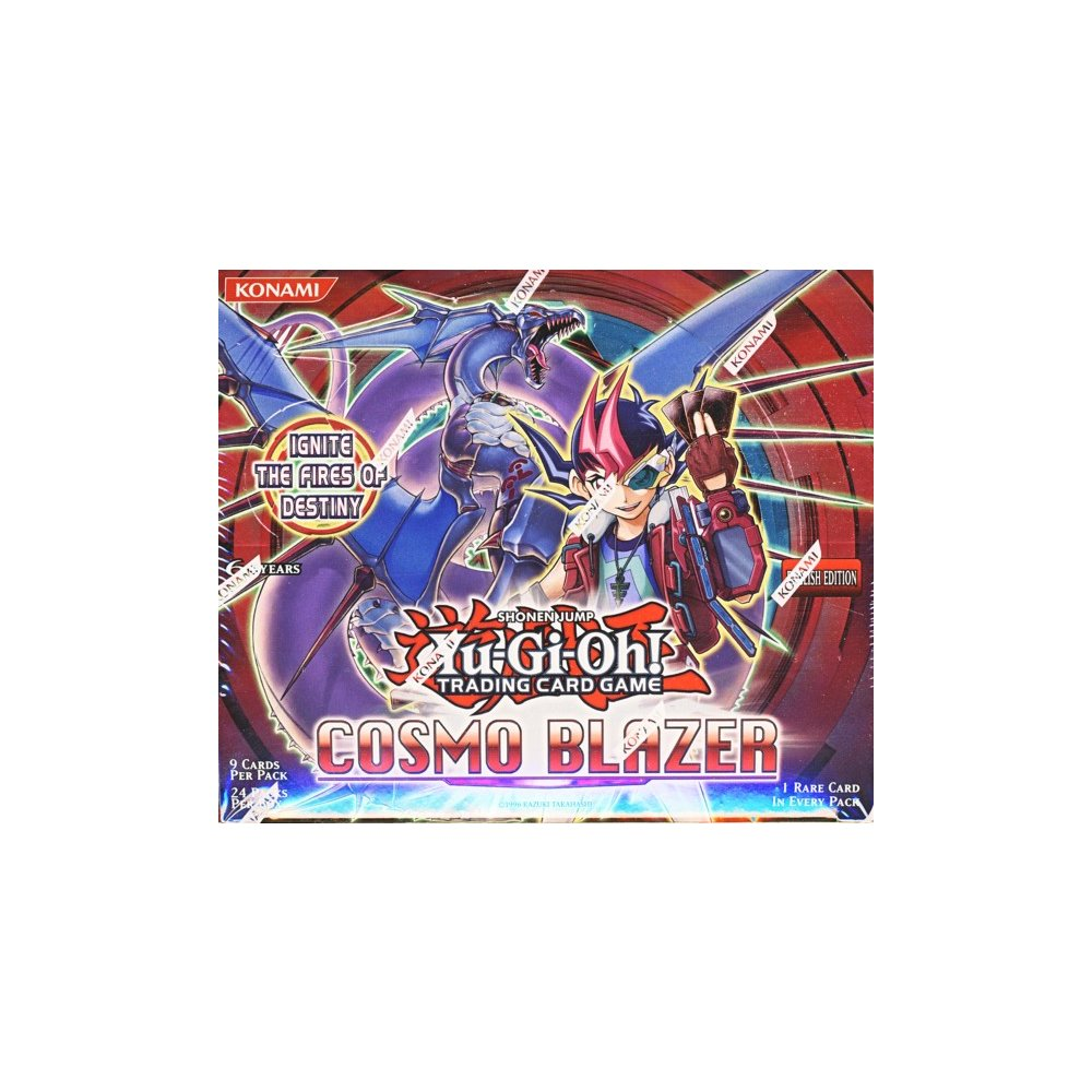 Yugioh 1st Edition Cosmo Blazer Booster Box Factory Sealed
