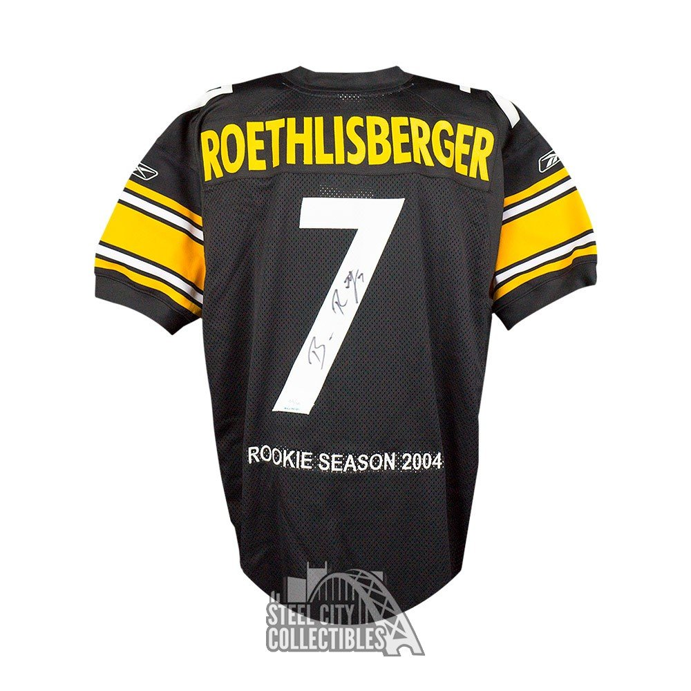 differently 9a52c 25626 Ben Roethlisberger Autographed Steelers Upper Deck Jersey ...