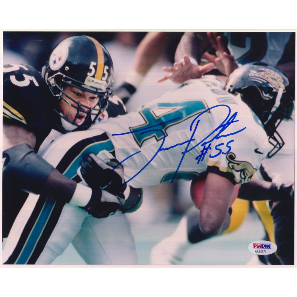 4f6a58a78d7 Joey Porter Autographed Pittsburgh Steelers 8x10 Photo - PSA/DNA COA |  Steel City Collectibles